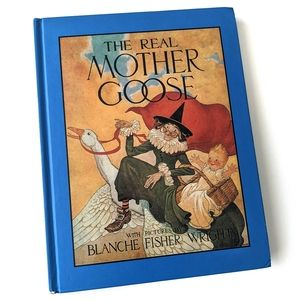 🔥BOGO🔥 Hardcover The Real Mother Goose